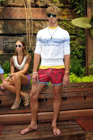 Показ Gant by Michael Bastian коллекции сезона Весна-лето 2012 года Prêt-à-porter - www.elle.ru - Подиум - фото 296546