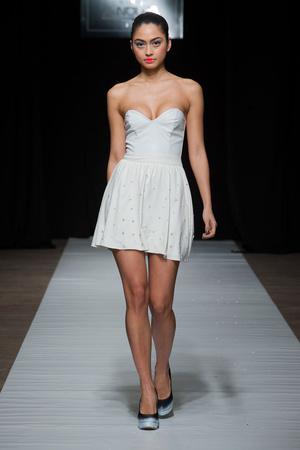 Показ Maison Anoufa коллекции сезона Весна-лето 2014 года Haute couture - www.elle.ru - Подиум - фото 574339