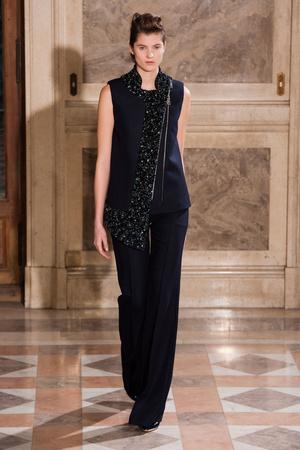 Показ Bouchra Jarrar коллекции сезона Весна-лето 2014 года haute couture - www.elle.ru - Подиум - фото 574665