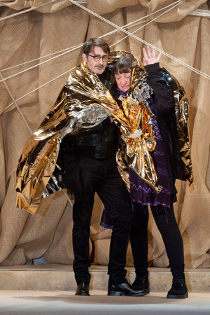 Показ Franck Sorbier коллекции сезона Весна-лето 2013 года Haute couture - www.elle.ru - Подиум - фото 480416