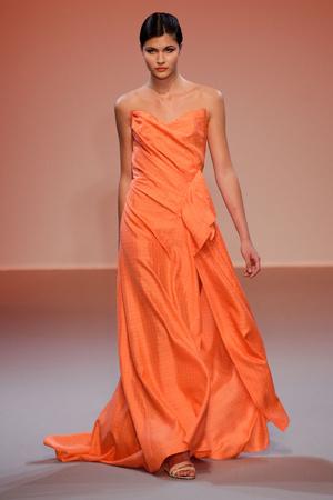 Показ Lefranc Ferrant коллекции сезона Осень-зима 2010-2011 года haute couture - www.elle.ru - Подиум - фото 168019