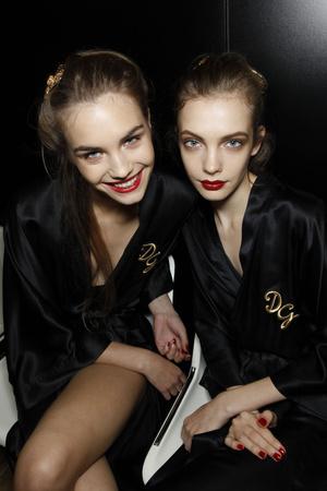 Показ Dolce & Gabbana коллекции сезона Весна-лето 2010 года Prêt-à-porter - www.elle.ru - Подиум - фото 117849