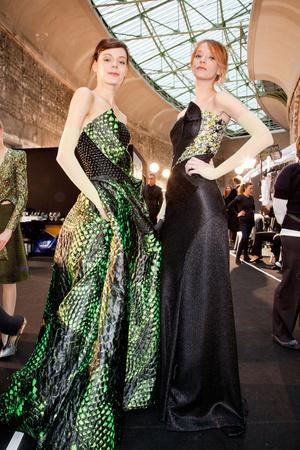 Показ Giorgio Armani Privé коллекции сезона Весна-лето 2012 года Haute couture - www.elle.ru - Подиум - фото 332208