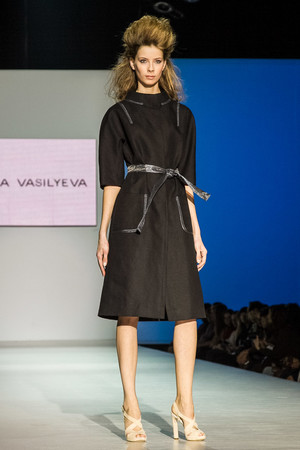 Показ Lena Vasilyeva коллекции сезона Весна-лето 2013 года Prêt-à-porter - www.elle.ru - Подиум - фото 469062