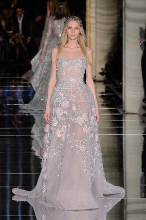 Показ Zuhair Murad коллекции сезона Весна-лето  2016 года Haute couture - www.elle.ru - Подиум - фото 602983