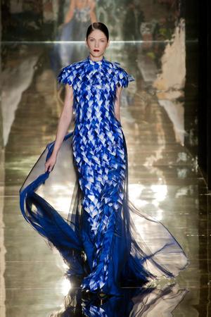 Показ Georges Chakra коллекции сезона Осень-зима 2012-2013 года Haute couture - www.elle.ru - Подиум - фото 403198