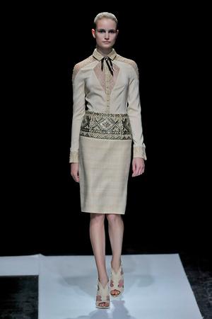 Показ Maxime Simoens коллекции сезона Осень-зима 2011-2012 года haute couture - www.elle.ru - Подиум - фото 278937
