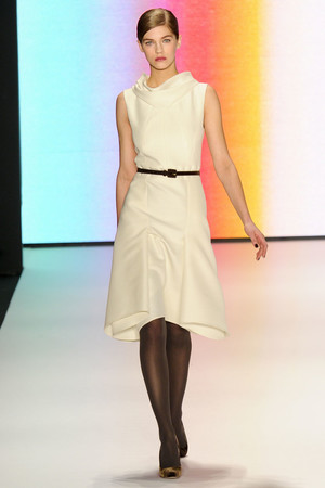 Показ Carolina Herrera коллекции сезона Осень-зима 2011-2012 года prêt-à-porter - www.elle.ru - Подиум - фото 228849