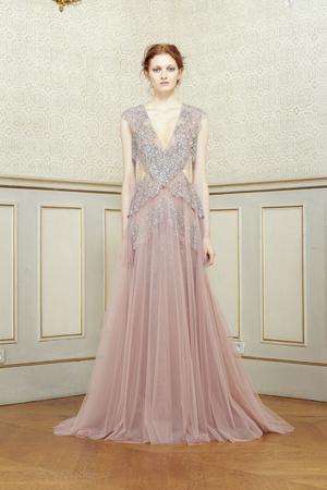Показ Rami Al ALi коллекции сезона Весна-лето 2014 года Haute couture - www.elle.ru - Подиум - фото 574370