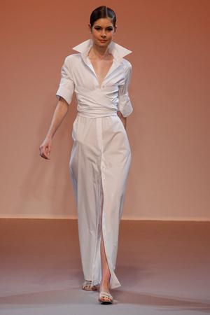 Показ Lefranc Ferrant коллекции сезона Осень-зима 2010-2011 года haute couture - www.elle.ru - Подиум - фото 168004