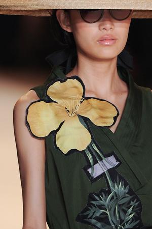 Показ Carolina Herrera коллекции сезона Весна-лето 2011 года prêt-à-porter - www.elle.ru - Подиум - фото 175731