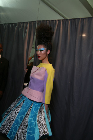 Показ Christian Dior коллекции сезона Осень-зима 2011-2012 года Haute couture - www.elle.ru - Подиум - фото 277220