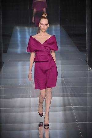 Показ Valentino коллекции сезона Весна-лето 2009 года haute couture - www.elle.ru - Подиум - фото 86961