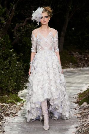 Показ  коллекции сезона Весна-лето 2013 года haute couture - www.elle.ru - Подиум - фото 478965