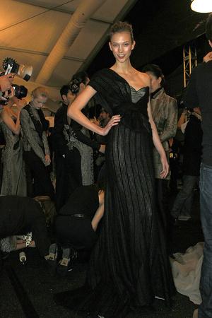 Показ Carolina Herrera коллекции сезона Осень-зима 2009-2010 года prêt-à-porter - www.elle.ru - Подиум - фото 89381
