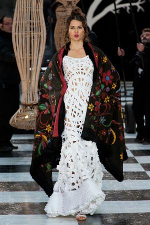 Показ Franc Sorbier коллекции сезона Весна-лето 2014 года haute couture - www.elle.ru - Подиум - фото 575080