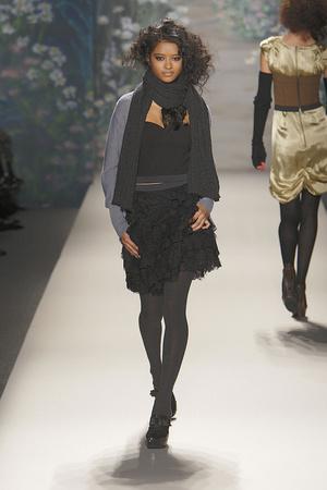 Показ Tracy Reese коллекции сезона Осень-зима 2010-2011 года prêt-à-porter - www.elle.ru - Подиум - фото 145103