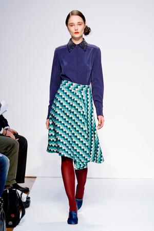 Показ Mila Schon коллекции сезона Осень-зима 2011-2012 года prêt-à-porter - www.elle.ru - Подиум - фото 246654