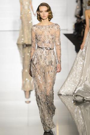 Показ Zuhair Murad коллекции сезона Весна-лето 2015 года Haute couture - www.elle.ru - Подиум - фото 593251