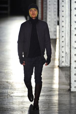 Показ N. Hoolywood коллекции сезона Осень-зима 2013-2014 года prêt-à-porter - www.elle.ru - Подиум - фото 483116