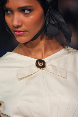 Показ Ulyana Sergeenko коллекции сезона Весна-лето 2013 года Haute couture - www.elle.ru - Подиум - фото 479283