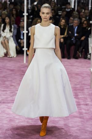 Показ Christian Dior коллекции сезона Весна-лето 2015 года Haute couture - www.elle.ru - Подиум - фото 592832