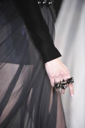 Показ Givenchy коллекции сезона Осень-зима 2009-2010 года Haute couture - www.elle.ru - Подиум - фото 87796