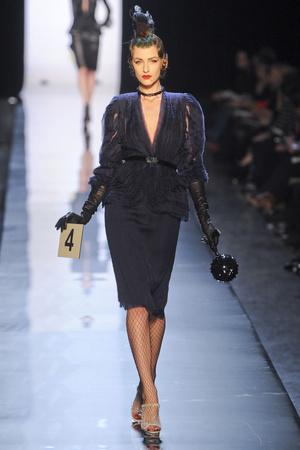 Показ Jean Paul Gaultier коллекции сезона Весна-лето 2011 года Haute couture - www.elle.ru - Подиум - фото 217252