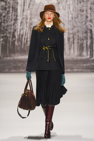 Показ Milly by Michelle Smith коллекции сезона Осень-зима 2011-2012 года Prêt-à-porter - www.elle.ru - Подиум - фото 234660