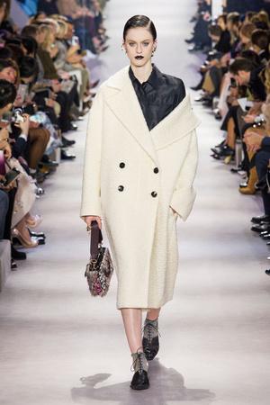 Показ Christian Dior коллекции сезона Осень-зима 2016-2017 года Prêt-à-porter - www.elle.ru - Подиум - фото 606035