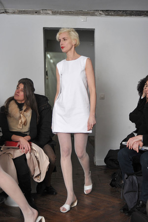 Показ Adeline Andre коллекции сезона Весна-лето 2009 года Haute couture - www.elle.ru - Подиум - фото 86148