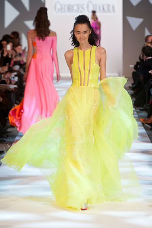 Показ Georges Chakra коллекции сезона Весна-лето 2013 года Haute couture - www.elle.ru - Подиум - фото 480706