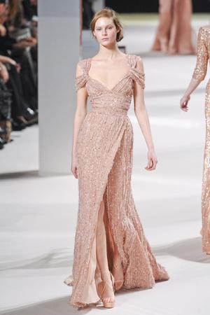 Показ Elie Saab коллекции сезона Весна-лето 2011 года Haute couture - www.elle.ru - Подиум - фото 216814