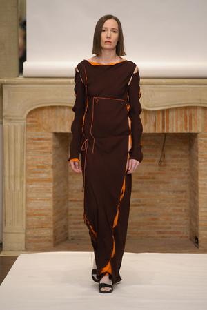 Показ Adeline Andre коллекции сезона Весна-лето 2011 года Haute couture - www.elle.ru - Подиум - фото 216073
