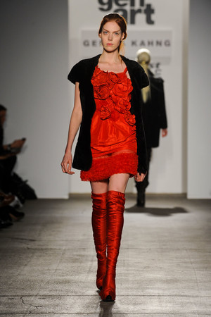 Показ Gemma Kahng коллекции сезона Осень-зима 2012-2013 года prêt-à-porter - www.elle.ru - Подиум - фото 335943