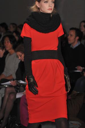 Показ DKNY коллекции сезона Осень-зима 2009-2010 года prêt-à-porter - www.elle.ru - Подиум - фото 89974