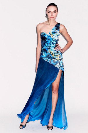 Показ Epson Digital Couture коллекции сезона Осень-зима 2017-2018 года prêt-à-porter - www.elle.ru - Подиум - фото 619127