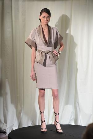 Показ Dominique Sirop коллекции сезона Весна-лето 2009 года Haute couture - www.elle.ru - Подиум - фото 86510
