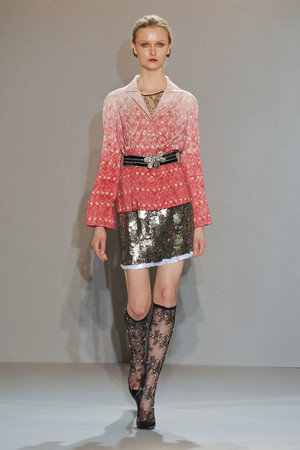 Показ Collette Dinnigan коллекции сезона Осень-зима 2012-2013 года Prêt-à-porter - www.elle.ru - Подиум - фото 388415