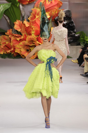Показ Christian Dior коллекции сезона Осень-зима 2010-2011 года haute couture - www.elle.ru - Подиум - фото 167442