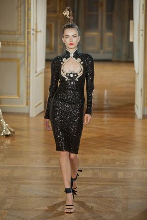 Показ Alexis Mabille коллекции сезона Осень-зима 2012-2013 года haute couture - www.elle.ru - Подиум - фото 403458