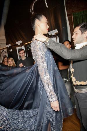 Показ Alexis Mabille коллекции сезона Осень-зима 2012-2013 года haute couture - www.elle.ru - Подиум - фото 403568