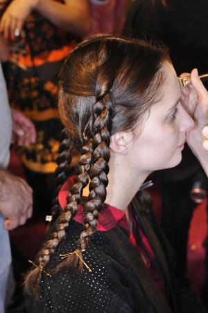 Показ Ossie Clark коллекции сезона Весна-лето 2009 года prêt-à-porter - www.elle.ru - Подиум - фото 78988