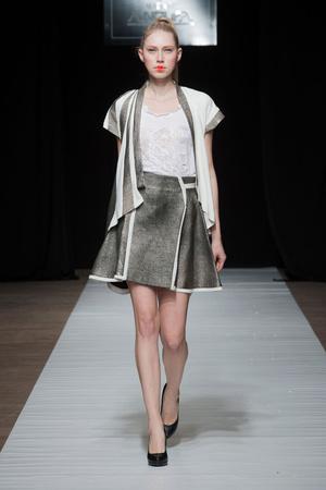 Показ Maison Anoufa коллекции сезона Весна-лето 2014 года Haute couture - www.elle.ru - Подиум - фото 574334