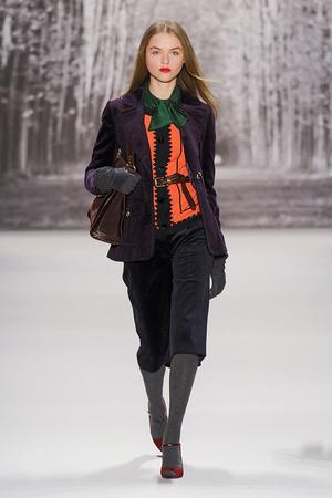 Показ Milly by Michelle Smith коллекции сезона Осень-зима 2011-2012 года Prêt-à-porter - www.elle.ru - Подиум - фото 234658