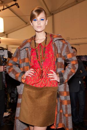 Показ Anna Sui коллекции сезона Осень-зима 2012-2013 года Prêt-à-porter - www.elle.ru - Подиум - фото 349548
