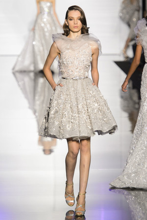 Показ Zuhair Murad коллекции сезона Весна-лето 2015 года haute couture - www.elle.ru - Подиум - фото 593252