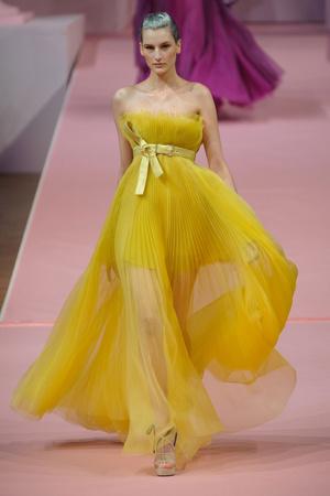 Показ Alexis Mabille коллекции сезона Весна-лето 2013 года Haute couture - www.elle.ru - Подиум - фото 477550