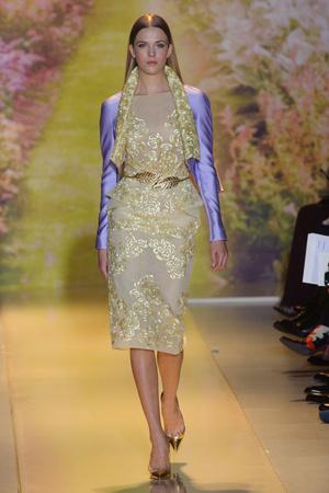 Показ Zuhair Murad коллекции сезона Весна-лето 2014 года haute couture - www.elle.ru - Подиум - фото 575375