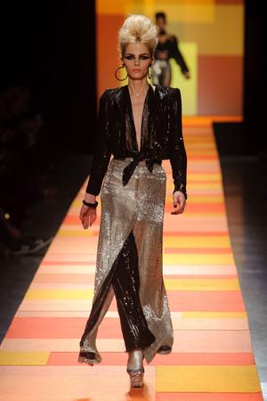 Показ Jean Paul Gaultier коллекции сезона Весна-лето 2013 года Haute couture - www.elle.ru - Подиум - фото 480662